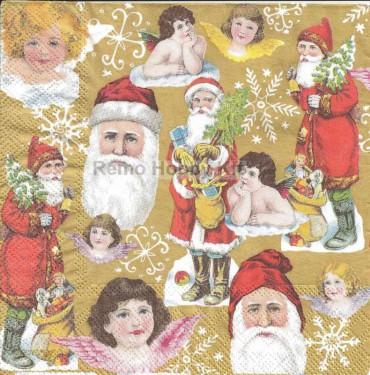 Dekorszalvéta - Santa