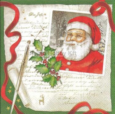 Dekorszalvéta - Dear Santa