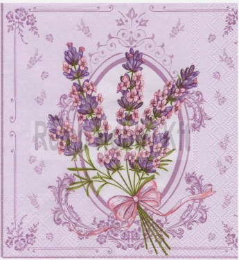 Dekorszalvéta - Lavender Bunch Purple