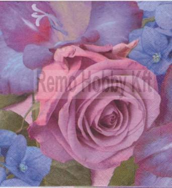 Dekorszalvéta - Rózsa 9