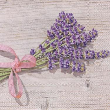 Dekorszalvéta - Lavender 2