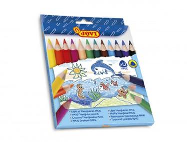 Jovi vastag színes ceruza készlet 12 db/cs