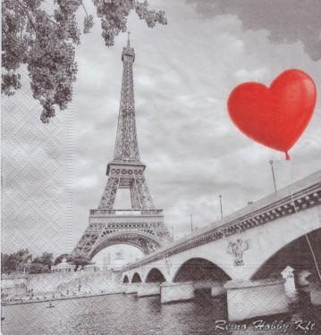 Dekorszalvéta - City of Love