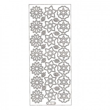 Dekormatrica - Virágok 2 DM1126