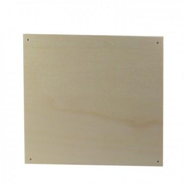 Négyzet alakú fúrt falap 36x20 cm 10 db/cs