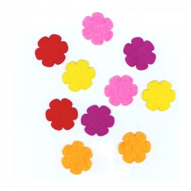 Filcfigura Hatszirmú virág (mini)
