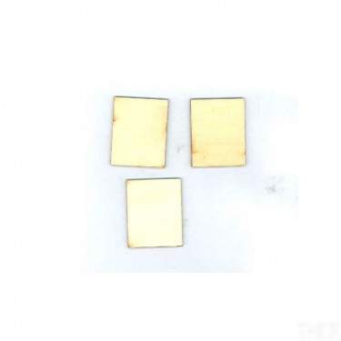 Négyzet alakú falap 5x4 cm 3 db/cs