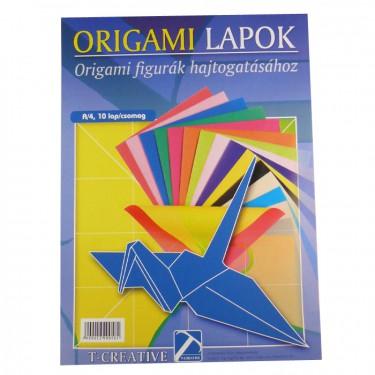 Origami papír A4 10 db/cs