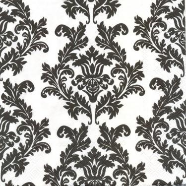 Dekorszalvéta - White & Black Wallpaper