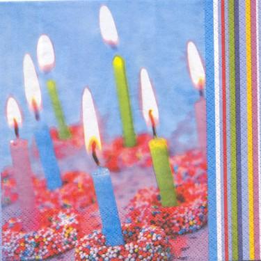 Dekorszalvéta - Happy Birthday 5