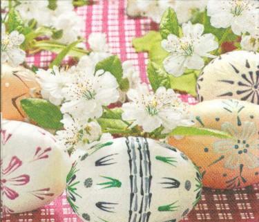 Dekorszalvéta - Eggs