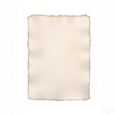 Merített papír, égetett szélű A5 10 db/cs