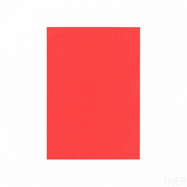Színes hajtogatós papír Piros A4 10 db/cs