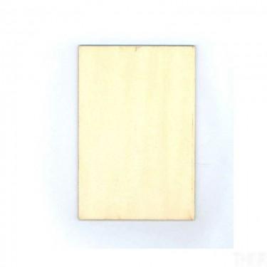 Négyzet alakú falap 9x13 cm 10 db/cs