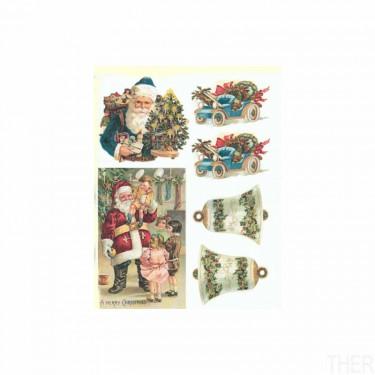 Karácsonyi rizspapír - ITD R790