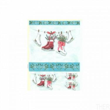 Karácsonyi rizspapír 793