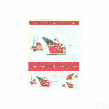 Karácsonyi rizspapír 794