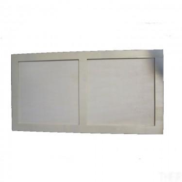 Normál kétablakos vékony képkeret 49x20.5 cm 5 db/cs