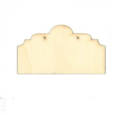 Fa cégértábla 8. 22.5x12.5 cm 1 db/cs