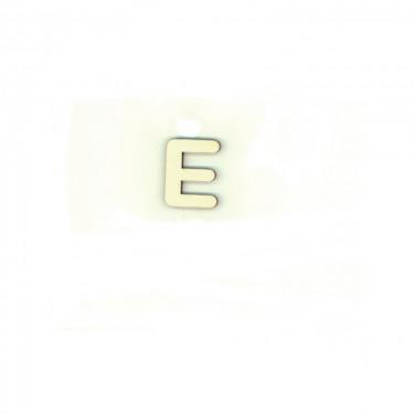 Festhető fafigura E betű 10 db/cs