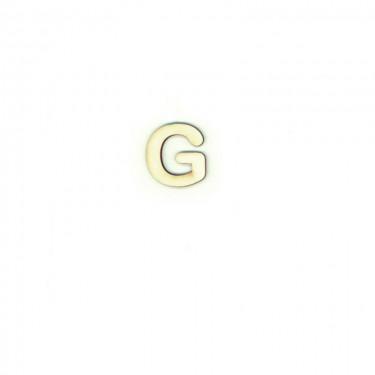 Festhető fafigura G betű 10 db/cs