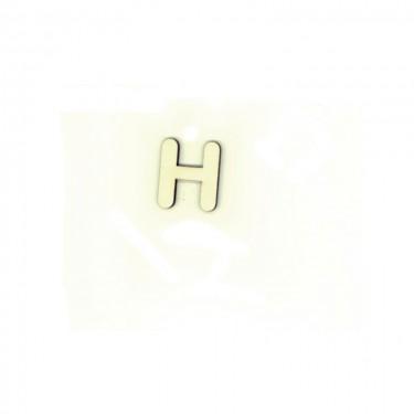 Festhető fafigura H betű 10 db/cs
