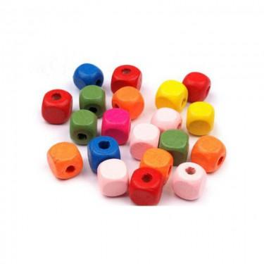 Színes fagyöngy kocka (kicsi) 5x5 mm