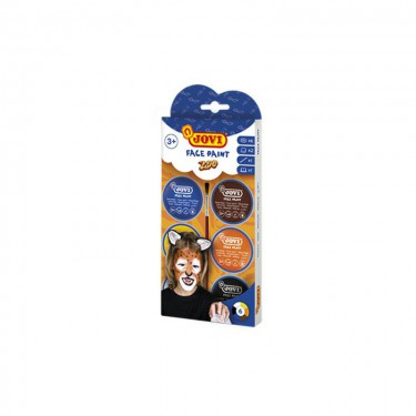 """Jovi arcfestő készlet """"Zoo"""" 6x8 ml"""