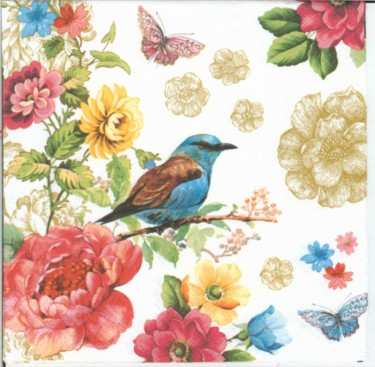 Dekorszalvéta - Bird of Paradise