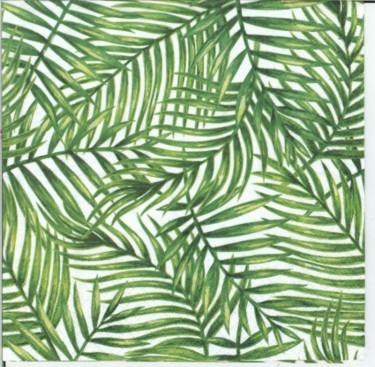 Dekorszalvéta - Tropical Leaves