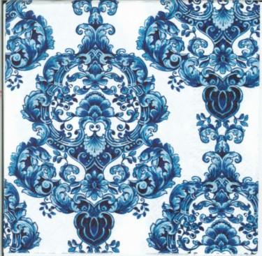 Dekorszalvéta - Porcelain Ornament