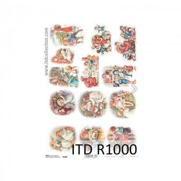 Karácsonyi rizspapír  1000