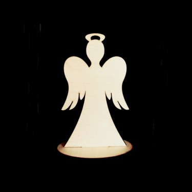 Angyal glóriával