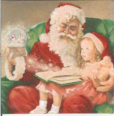 Dekorszalvéta - A Christmas Carol (25x25 cm)