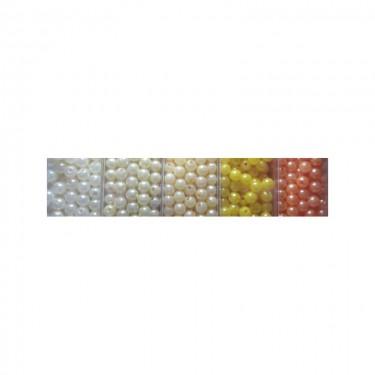 Műanyag teklagyöngy 1. (nagy kiszerelésű) 6 mm 80 g
