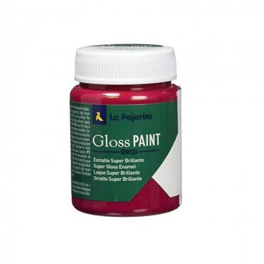 La Pajarita Fényes festék Vörös 75 ml