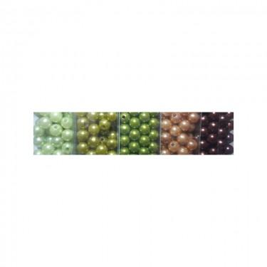 Műanyag teklagyöngy 1. (nagy kiszerelésű) 8 mm 80 g