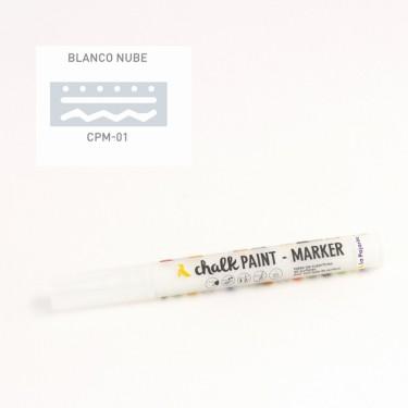 La Pajarita krétafesték toll Fehér 2.5 mm