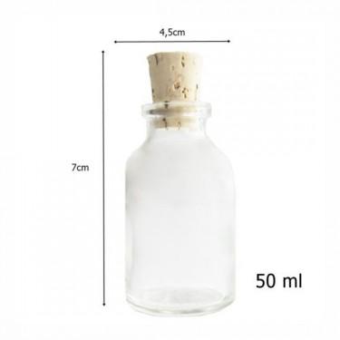 Díszüveg - Miniüveg 50 ml