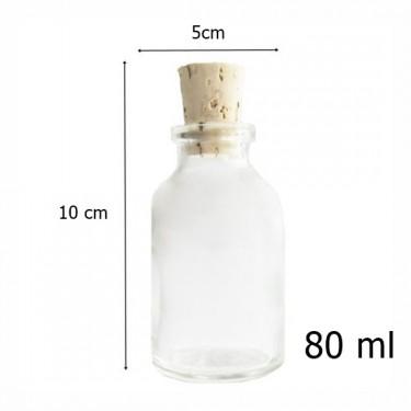 Díszüveg - Miniüveg 80 ml