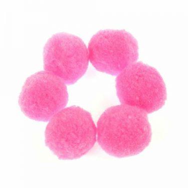 Pompon Pink 2 cm