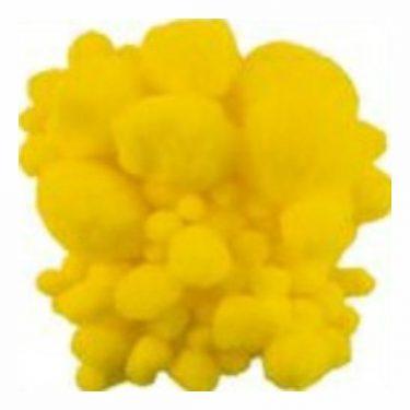 Pompon Sárga vegyes 10-40 mm 100 db/cs