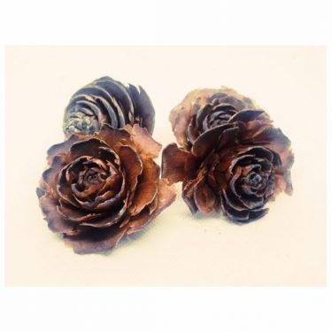 Termés Rózsafej barna 4 db/cs