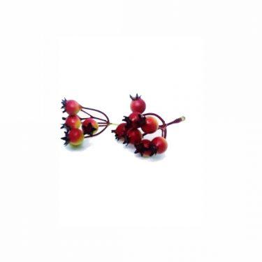 Őszi dekoráció Piros-sárga bogyó 2 db/cs