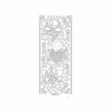 Karácsonyi dekormatrica ezüst 8500