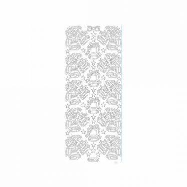 Karácsonyi dekormatrica ezüst 860