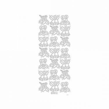 Karácsonyi dekormatrica ezüst 959