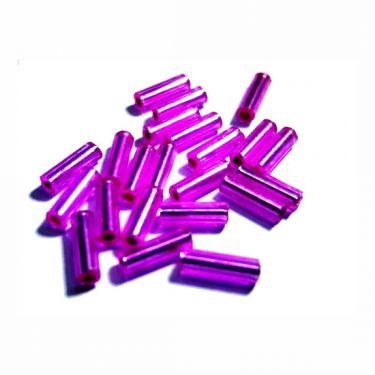 Cseh szalmagyöngy Pink 6 mm 10 g