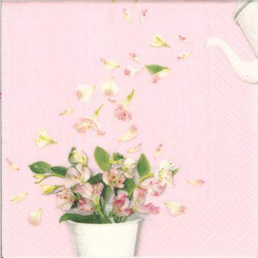 Dekorszalvéta - Flower Shower