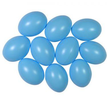 Műanyag tojás, világoskék 4,5 cm 25 db/cs